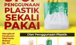 Pengurangan Penggunaan Kantong Belanja Plastik Tip Top Supermarket Pondok Gede