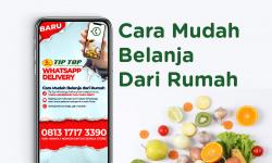 Belanja Dengan Layanan Tip Top WhatsApp Delivery