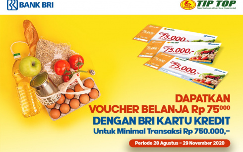 Promo Kartu Kredit Bank BRI
