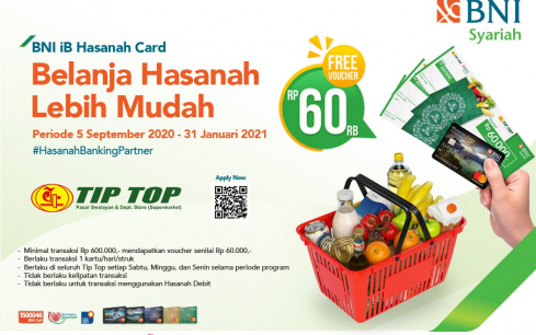 Promo Bank Tip Top Supermarket