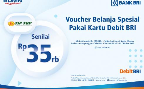 Promo Kartu Debit Bank BRI