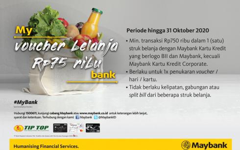 Promo Kartu Kredit Bank MayBank