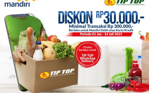 Promo Mandiri - TIP TOP WhatsApp Delivery
