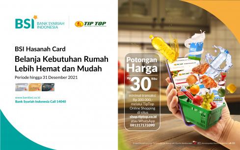 Promo BSI Hasanah Card Online Shopping