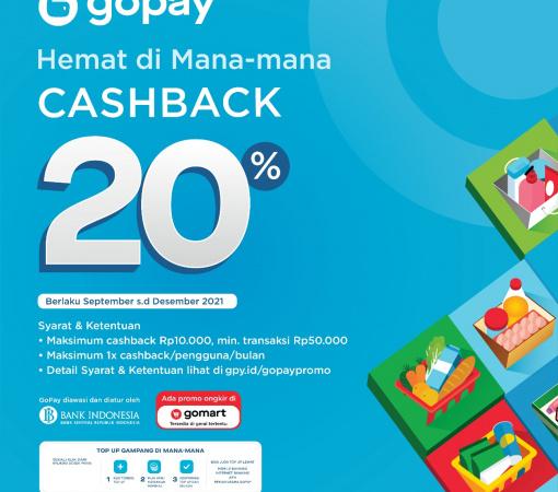 Promo Gopay Cashback