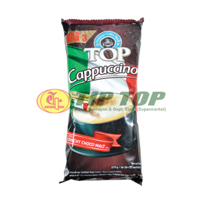 Top Coffee Cappucino Bag 6x25gr