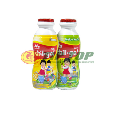 Chil Go! Susu Cair Pisang/ Melon Madu 140ml