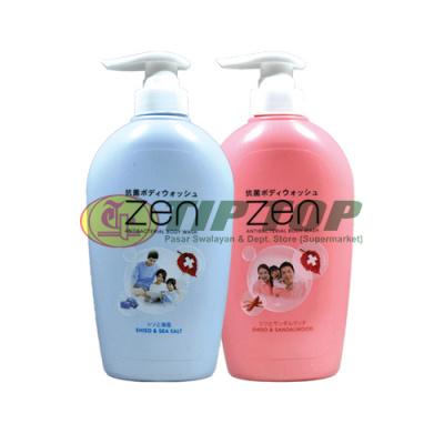 Zen Body Clean Shiso & Sandalwood/ Shiso & Sea Salt 450ml