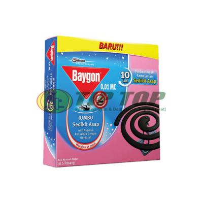 Baygon Bakar Jumbo Fresh Scent 5's