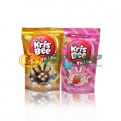 Krisbee Pillow Chocolava / Strawberry Ice Cream Pouch 120gr