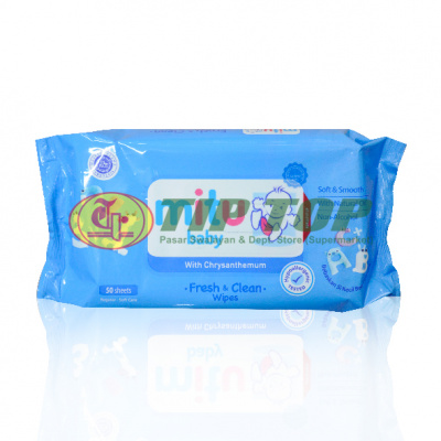 Mitu Baby Softcare Wipes Blue 50lbr