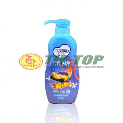 Cussons Kids Body Wash Hotwheels Fresh & Clean Pump 350ml