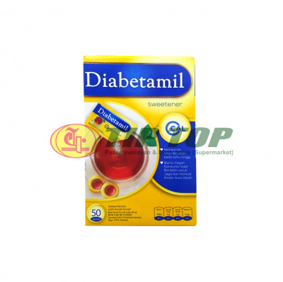 Diabetamil Sweetener 50's
