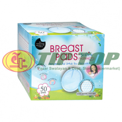 Softex Breast Pads 50's