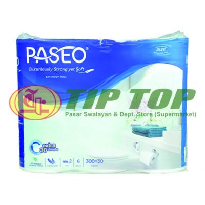 Paseo Tissu Toilet Core N Embs 6 Rolls