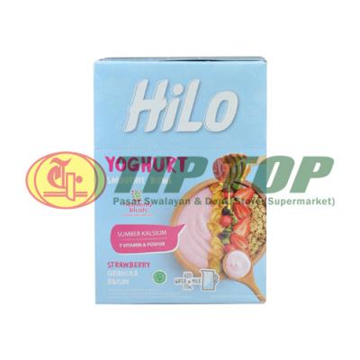 Hilo Yoghurt Smoothie Bowl Starwberry 8x30gr