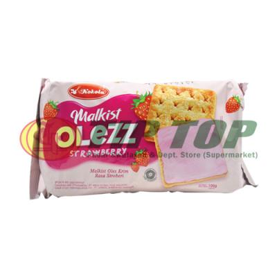 Kokola Malkist Olezz Strawberry 100gr