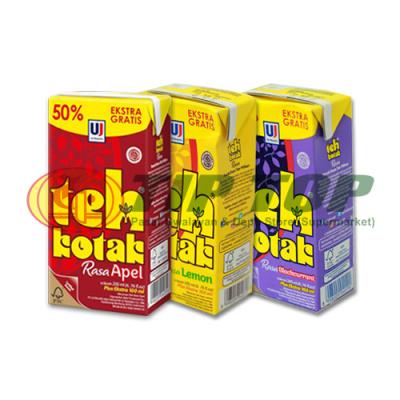 Ultra Teh Kotak Apple / Blackcurrant / Lemon 200ml