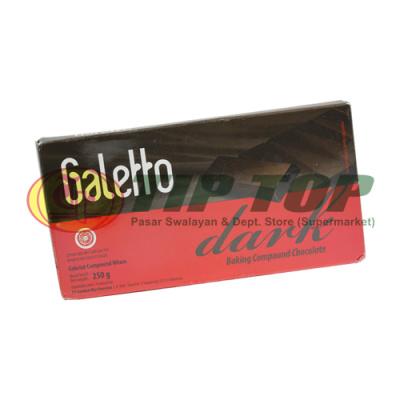 Galetto Dark Compound Choco 250gr