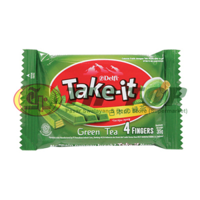 Delfi Take It Green Tea 4 Finger 35gr