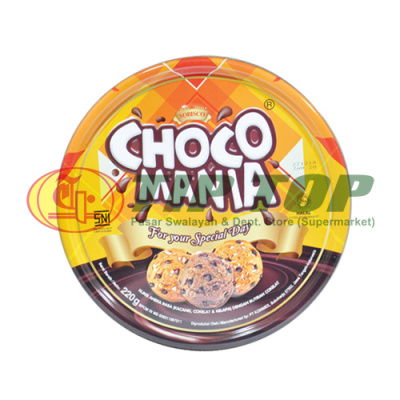 Choco Manis Assorted Cookies Tin 220gr