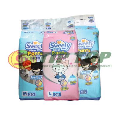 Sweety Silver Pants Boys / Girls M30 / L28 / XL26