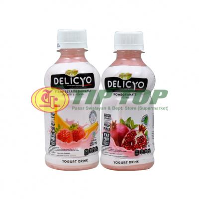 Delicyo Yo Drink Pomegranate / Strawberry & Banana 250ml