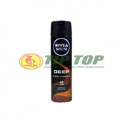 Nivea Men Deo Spray B Charcoal 150ml