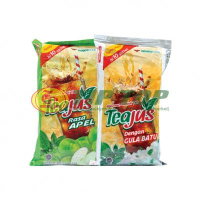 Tea Jus Rasa Apel / Gula Batu Sachet Pack 10x8gr