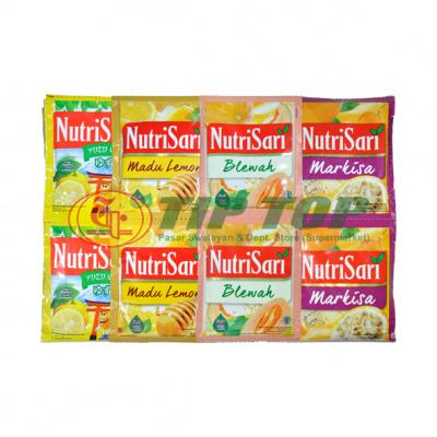Nutrisari Blewah / Markisa / Madu / Lemon / Yuzu / Orange Sachet 10x11gr