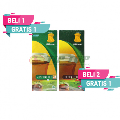 Dandang Teh Celup Jasmine Tea / Black Tea 25's