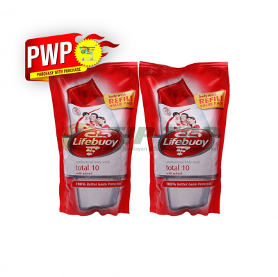 Lifebuoy Body Wash Total 10 Red Refill 900ml