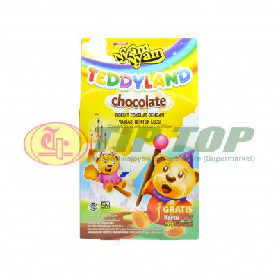 Nyam Nyam Teddyland Chocolate 45gr