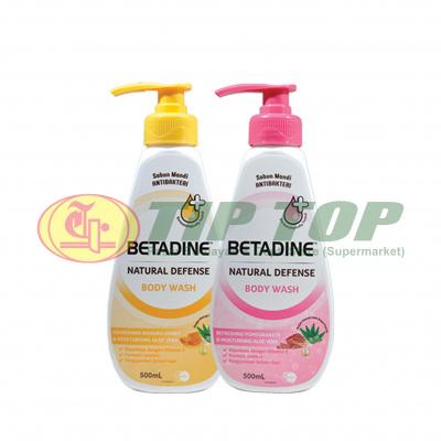 Betadine Body Wash Pomegranate Aloevera Pump 500ml