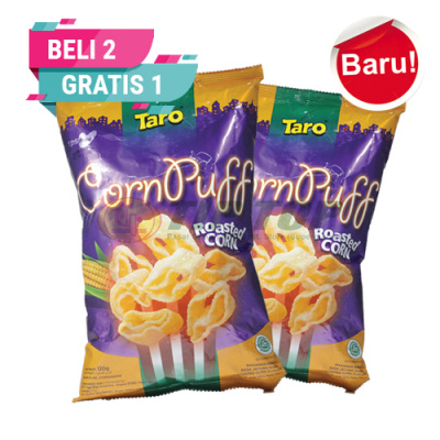 Taro Corn Puff Roasted Corn 120gr