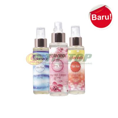 Esplanade Body Mist Cologne Spring Rose Pink / White Flower Biru / Tutti Frutti Orange 110ml