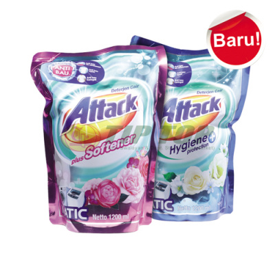 Attack Liquid Plus Softener / Hygiene Plus Protect Refill 1200ml