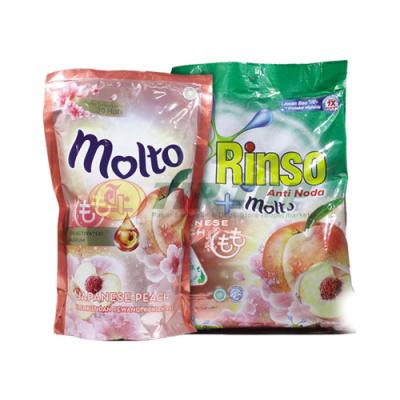 Rinso Molto Softener Japanese Peach Refill 720ml / Powder Molto Japanese Peach 770gr