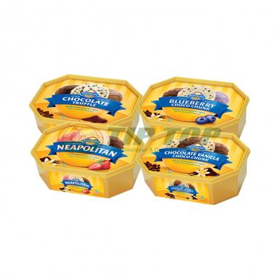Campina Es Krim Neapolitan / Blueberry Choco Chunk / Choco Vanila Chunk / Choco Truffle 700ml
