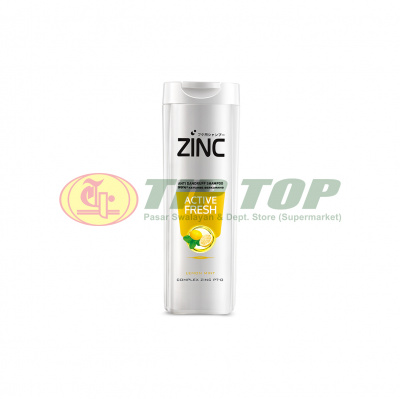 Zinc Shampoo Anti Dandruff Active Fresh 170ml