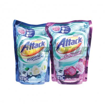 Attack Liquid Plus Softener / Hygiene Plus Protection Refill 1200ml