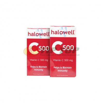 Halowell Vitamin C 500 Kaplet 30's
