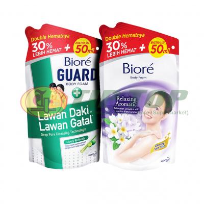 Biore Body Relax Aromatic & Guard Body Foam Lively Refresh Refill 800ml