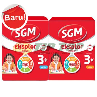 SGM Eksplor 3 Plus Madu, Vanila Kotak 600gr