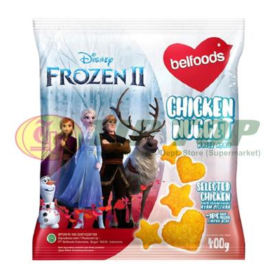 Belfoods Disney Frozen II Chicken Nugget 400gr
