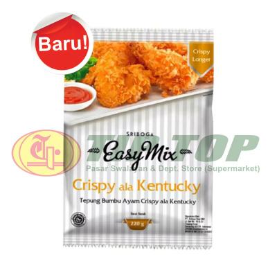 Easy Mix Tepung Bumbu Crispy Ala Kentucky 220gr