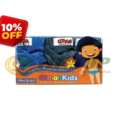 GTman KIDS Celana Dalam GMM Kids M, L, XL 3's