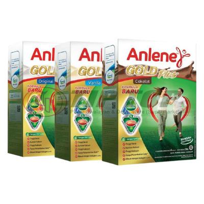 Anlene Gold Plus 5x Original, Vanila, Cokelat 650gr