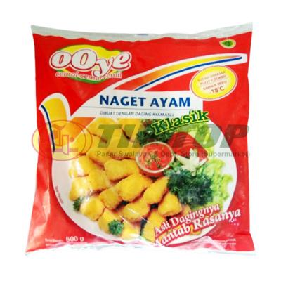 Ooye Naget Ayam Klasik 500gr