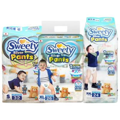 SWEETY Silver Pants S66, XL44, XXL36